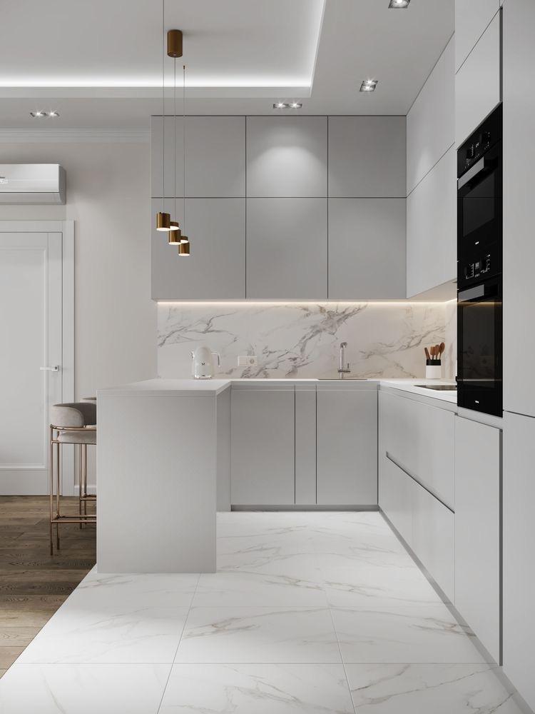 آشپزخانه و سالن پذیرایی
