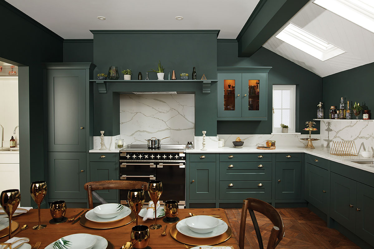 کابینت آشپزخانه L شکل