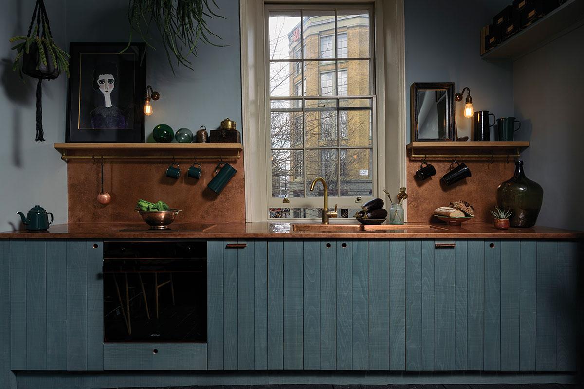 سیستم کابینت آشپزخانه خطی