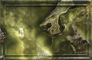 سنگ ساختمانی مرمر سبز